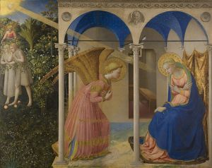 Fra Angelico's painting of the Annunciation